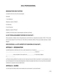 Contrat De Location Gratuit A Imprimer Modele A Telecharger